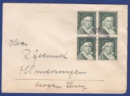 Brief Mehrfachfrankatur MiNr. 204 (br9819) - [7] Federal Republic