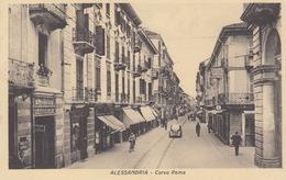 ALESSANDRIA - CORSO ROMA - VIAGGIATA  - 1946 - Alessandria