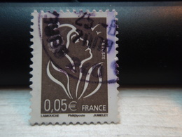 Timbre :   Type Marianne De Lamouche 0.05 €  Tellier : 3754 2009 - Used Stamps