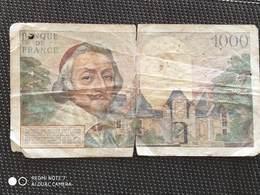 Billet 1000 Francs Richelieu ( 1953 – 1957 ) - 1871-1952 Circulated During XXth