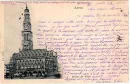 MARCOPHILIE  -  341  1 -  Cachets -Gare De Douai- Gare De Lapugnoy (Abbeville)- Frévent. Mars 1901. - France