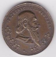 Medaille FRIEDRICH LUDWIG JAHN - Monarchia/ Nobiltà