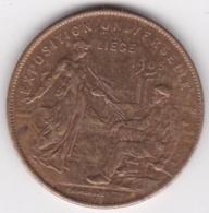 Médaille EXPOSITION UNIVERSELLE DE LIEGE 1905, Par Michaux - Bélgica