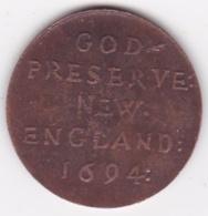 Jeton NEW ENGLAND 1694. Elephant. - United Kingdom