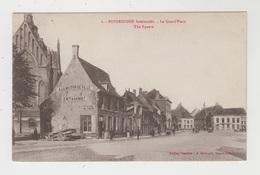 Poperinghe  Poperinge  Bombardée  La Grand'Place  The Square - Poperinge