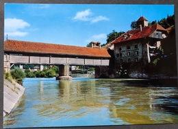 Fribourg Sarine Et Le Pont Couvert - FR Fribourg