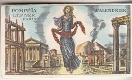 """Calendrier 1962  Parfumé """" POMPETE Parfum De L.T. PIVER """"  Offert Par Le Salon De Jean GOMBERT -  TOULOUSE - Calendriers"""