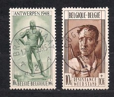 Belgie Belgique 1948 OCBn° 785-86 (o) Oblitéré Used Cote 37,50 Euro - Used Stamps