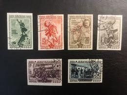 RUSSIE RUSSIA URSS 1940 - Perekop Armée Rouge - Série Complète De 6 Valeurs Used ND - Cf Scan - 1923-1991 URSS
