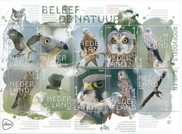 PAYS-BAS 2020 Roofvogels En Uilen   MNH / POSTFRIS / NEUF SANS CHARNIERE - Periode 2013-... (Willem-Alexander)