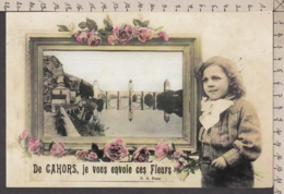 101162GF/ CAHORS, Fantaisie, Repro D'une Ancienne CPA - Cahors