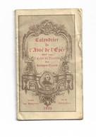 Le Calendrier De L' Abbé De L' Épée 7 X 12     1932 - Religione & Esoterismo
