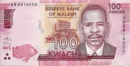 MALAWI 100 KWACHA 2014 UNC P 65 A - Malawi
