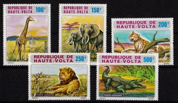 Republic Haute Volta - 1973 Airmail African Wildlife - Obervolta (1958-1984)