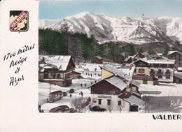 """Cpsm 10X15 . VALBERG (06) Les Hôtels Et La Chaîne Du St Honorat """"1700 Mètre Neige Et Azur """" - Autres Communes"""