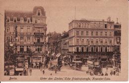 263745Berlin, Unter Den Linden, Ecke Friedrichstrasse, Kranzler Ecke 1922 (Falte Rechrs Unter) - Other