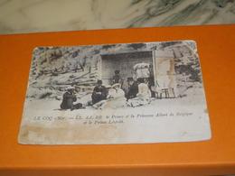 CARTE POSTALE  LE COQ SUR MER PRINCE ET PRINCESSE ALBERT ET PRINCE LEOPOLD 1908 - Otros