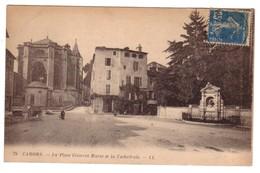 CAHORS - La Place Clément Marot - Cahors