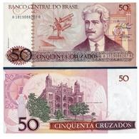 Billet Brésil 50 Cruzados - Brésil
