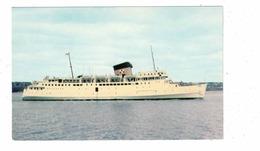 "CPR Passenger & Car Ferry ""Princess Of Acadia"", Between St. John NB And Digby NS,  Old Chrome Postcard - Fähren"