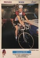 Postcard Kim Andersen -  Miko-Mercier-Vivagel - 1980 - Cyclisme