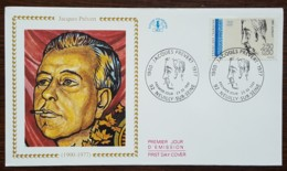 FDC 1991 - YT N°2685 - JACQUES PREVERT - NEUILLY SUR SEINE - 1990-1999