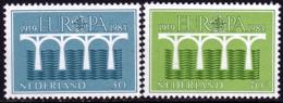 Pays Bas - Europa CEPT 1984 - Yvert Nr. 1221/1222 - Michel Nr. 1251/1252 A  ** - 1984
