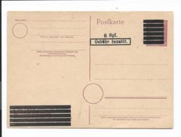 Amerikanische Zone PC 625 I ** - 6 Rpf Gebühr Bezahlt Auf P 314 II - Zone Anglo-Américaine