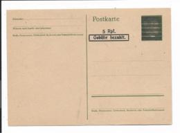 Amerikanische Zone PC 601 I ** - 5 Rpf Gebühr Bezahlt Auf P 298 - Zone Anglo-Américaine
