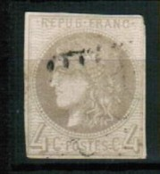 A1-34 - France - N°41B Obl - Report 2 - 1870 Emisión De Bordeaux