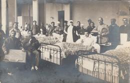 Vittel - Hopital - Carte Photo - Blessés 1916 - Vittel Contrexeville