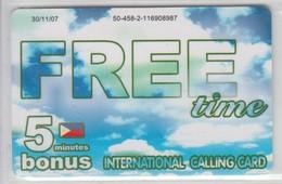 ISRAEL 2007 FREE TIME BONUS 5 MIN - Philippines