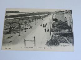 BASSE-INDRE - La Loire Et Le Quai Des Forges Ref A0163 - Basse-Indre