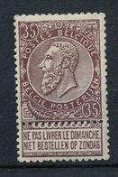 Belgique * - 1884-1891 Leopoldo II