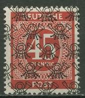 Bizone 1948 I. Kontrollratsausgabe Mit Netzaufdruck 65 II Postfrisch - Bizone