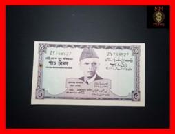 PAKISTAN 5 Rupees 1967  P. 15   UNC  P.h. Spots - Pakistan
