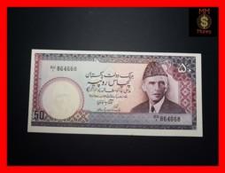 PAKISTAN 50 Rupees  1986  P. 40  UNC  P.h. - Pakistan