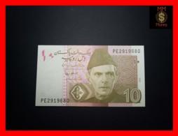 PAKISTAN 10 Rupees  2010  P. 45 E  UNC - Pakistan