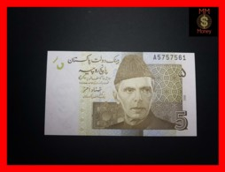 PAKISTAN 5 Rupees  2008  P. 53 A   UNC - Pakistan