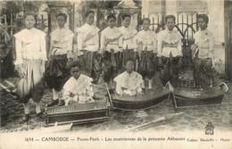 CAMBODGE PNOM PENH LES MUSICIENNES DE LA PRINCESSE AKHANARI - Cambodia