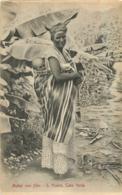 MULHER COM FILHO S. VICENTE CABO  VERDE - Cape Verde