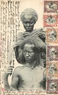 DJIBOUTI COIFFURE  D'UN  SOMALIS - Gibuti