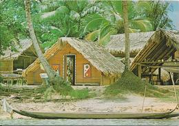 GUYANNE FRANCAISE - Cases Boni Au Bord Du Fleuve Maroni - Guyane