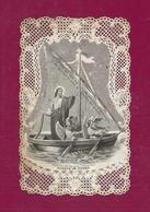 CANIVET- IMAGE RELIGIEUSE- DENTELLE  BARQUE DE PIERRE- BOUASSE LEBEL - Andachtsbilder