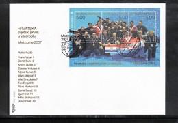 Kroatien / Croatia 2007 Croatia Waterpolo World Champion FDC - Wasserball