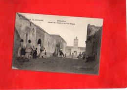 G1604 - FEDAHLA - Intérieur De La Gasbah Et Vue De La Mosquée - Otros