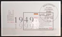 ALLEMAGNE Rep.Fédérale                         B.F 47                 1° JOUR       21/05/99 - [7] République Fédérale