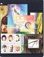 2016 Romania 2016 August- December 62 Stamps 6 Sheets  MNH  @ 70% FACE VALUE - Ganze Jahrgänge