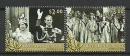 Tokelau 2013 60th Anniv. Of The Coronation Y.T. 366/367 ** - Tokelau