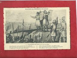 CPA  -   Promulgation Du Traité De Saint Clair Sur Epte  - Souvenir Du Millénaire Normand - Autres Communes